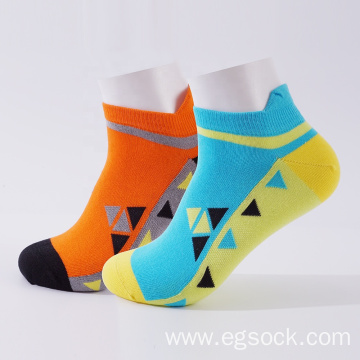 non-slip cotton funny ankle cycling socks